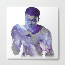 Deep Space Ali Metal Print