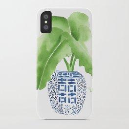 Ginger Jar + Elephant Ears iPhone Case