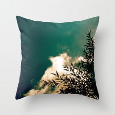 Tree in the Sky Throw Pillow