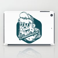 chewbacca iPad Cases featuring Hipster Chewbacca by Redwane