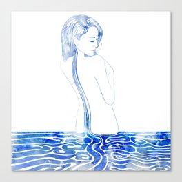 Water Nymph LXXV Canvas Print
