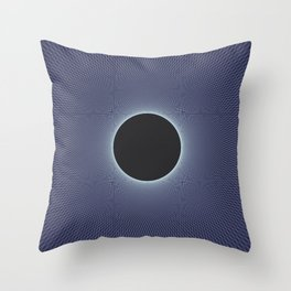 Stephen Hawking: Event Horizon Throw Pillow