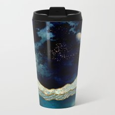 Indigo Sky Metal Travel Mug