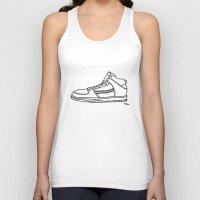 sneaker Tank Tops featuring Sneaker by YTRKMR