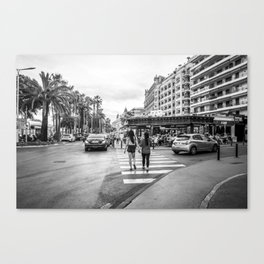 Cannes Canvas Print
