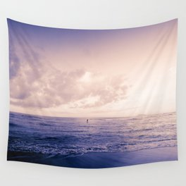 calm day ver.violet Wall Tapestry