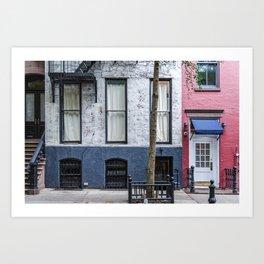 Old Greenwich Village apartment Art Print