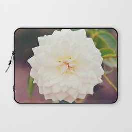White Petals Laptop Sleeve