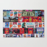 propaganda Canvas Prints featuring Propaganda by JDOTshots