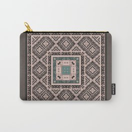 National classic abstract pattern retro print Carry-All Pouch