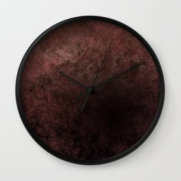 Dark old brown ground Wall Clock