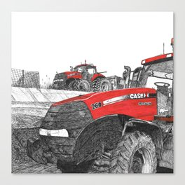 Case IH Tractor Canvas Print