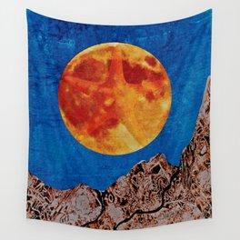A Starfish Moon Wall Tapestry
