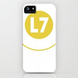 L7 Logo iPhone Case