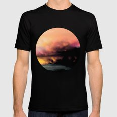 High Feelings by Debbie Porter - Designs of an Eclectique Heart Black MEDIUM Mens Fitted Tee