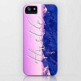 Ultra Violet Mountains - Hustle iPhone Case