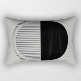 Moon Vibration Rectangular Pillow