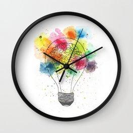 Creative brain Wall Clock