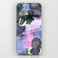 blush iPhone & iPod Skins featuring Blush by Amy Sia