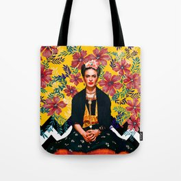 Frida Tropical Tote Bag