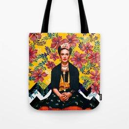 Frida Tropical Tote Bag
