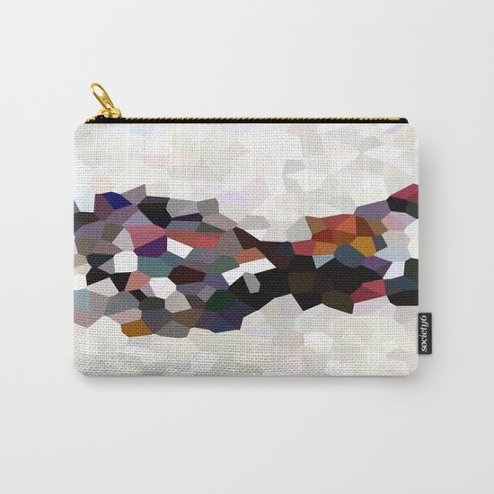 Geometric Anatomy Carry-All Pouch