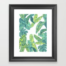 tropical daze Framed Art Print