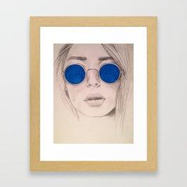 Shady Lady 3 Framed Art Print