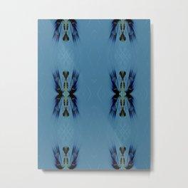 Mosaic Tribal Metal Print