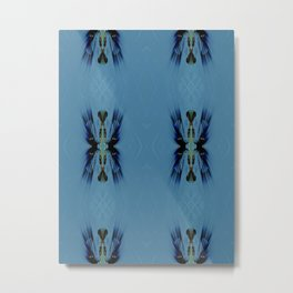 Mosaic Tribal Metal Print