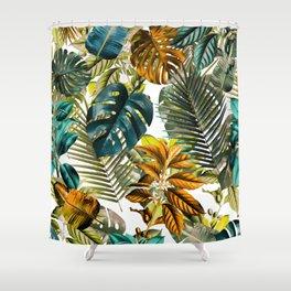 Tropical Garden IV Shower Curtain