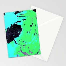Ocean green wave, pantone 2017 Stationery Cards