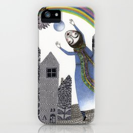 Rainbow Mine (2) iPhone Case