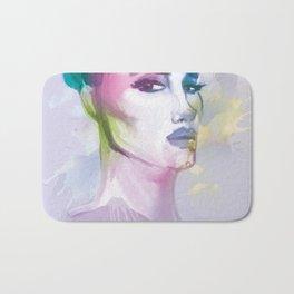 watercolors  Bath Mat
