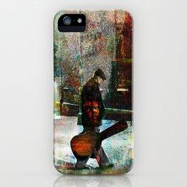 The guitarist iPhone Case