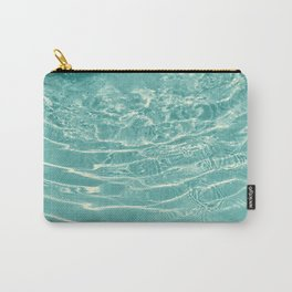 Turquoise Ocean Dream #1 #water #decor #art #society6 Carry-All Pouch