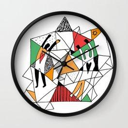 Loving Souls Wall Clock