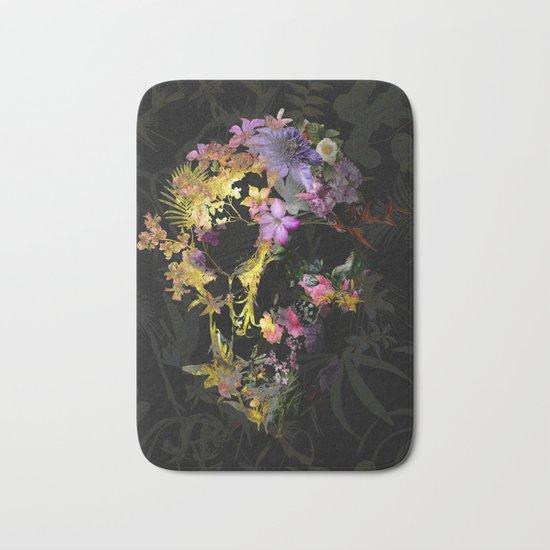 Spring Skull Bath Mat