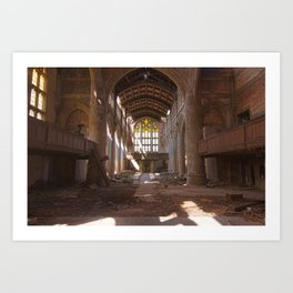 In The Absence Of Man  Art Print