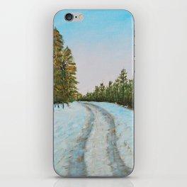 Frozen Path iPhone Skin