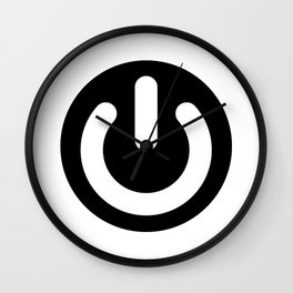 Geek Power Ideology Wall Clock
