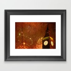 New Year Celebrations! Framed Art Print