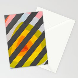 Unleash Color - Rainbow Geometric Pattern Stationery Cards