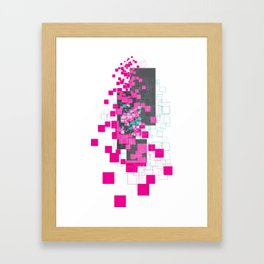 bocks Framed Art Print