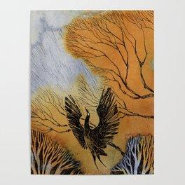 Black Heron Poster