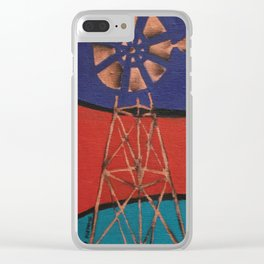 Windpump Clear iPhone Case