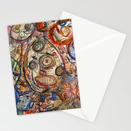 Faces Faces Stationery Cards