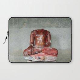 headless Buddha Laptop Sleeve