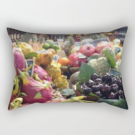 Parisian Fruits Rectangular Pillow