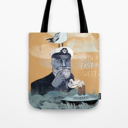 The Captains Lost Again  Tote Bag